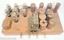 vintage*1933 SILVERTONE 6 LEG /12 TUBE RADIO part: WORKING RCA-GE-WEST. CHASSIS