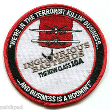 DAESH WHACKER UAV INGLOURIOUS BASTERDS PATCH: Terrorist Killing Biz is Booming