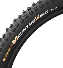1x Continental Mountain King II  MTB Tyre Black 26 x 2.4 Wired Mountain Bike