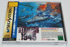 Strikers 1945 Sega Saturn Japan Japanese NTSC-J Psikyo * Near-Mint + Spine Obi