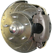 """SWS DISC BRAKE KIT,FRONT,64-72,2"""" DROP SPINDLES,11"""" DRILLED ROTOR,CALIPERS,LINES"""