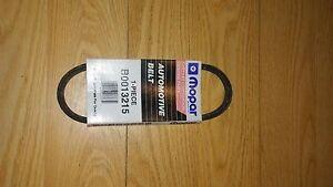 MOPAR BELT  OEM  b0013215 Accessory Drive Belt For Dodge Chrysler Fiat Plymouth