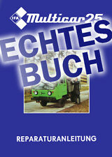 Echtes Buch: Reparaturhandbuch Multicar M25 Reparaturanleitung 🔧 DDR, keine CD