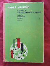 LIBRO La vita di Sir Alexander Fleming Andrè Maurois #TO1