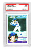 Ryne Sandberg (Chicago Cubs) 1983 Topps Baseball #83 RC Rookie Card - PSA 9 MINT
