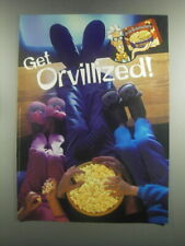 2001 Orville Redenbacher's Butter Popcorn Ad - Get Orvillized