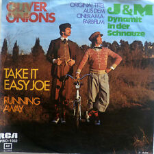 "7"" 1974 OST VG++++ ! OLIVER ONIONS : Take It Easy Joe"