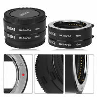 Meike MK-S-AF3A Macro Extension Tube Ring Set Auto Focus for Sony E Mount Camera