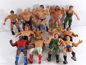 "WWF LJN Titan Sports Lot of 12 Wrestling 8"" Action Figures 1984-1985"