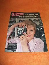 Werbung Reklame Charmant Foto Film Prospekt Katalog mit Preisangaben Juni 1962