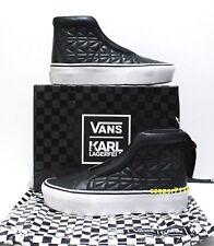Vans x Karl Lagerfeld SK8 Hi Laceless Plattform Kette K Quilt Damen Größe: 6.5