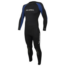 Mens 3/2mm  Neoprene Wetsuits Jumpsuit Full Body Surfing Snorkeling Diving Suit