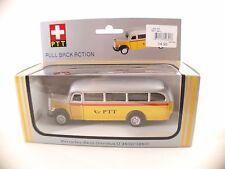 RIKU 1950 Mercedes-Benz Omnibus 03500  PTT Suisse autobus friction neuf  MIB