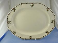 "unknown GARLAND BORDER 4125 OVAL SERVING PLATTER 14"" BY ROYAL WINTON GRIMWADES"