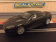 Scalextric Aston Martin DBS Top Gear C2982 Fully Serviced & New Braids Fitted