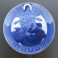 1916 Royal Copenhagen Christmas Plate - Mint