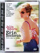 Dvd Erin Brockovich - Super jewel box di Steven Soderbergh 2000 Usato raro
