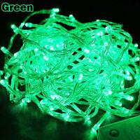 Green String Fairy Tree Lights Party Christmas Xmas Decor Outdoor Indoor
