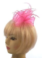 Baby pink comb fascinator for Ascot , Races, Weddings, Ladies Day