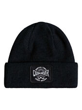 QUIKSILVER MENS BEANIE.NEW PERFORMED PATCH BLACK WARM KNITTED HAT 7W 3095 KVJO