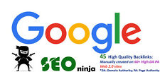 SEO Google Influencing 45 Backlinks From High 60 Da PA Web 2.0 Profile