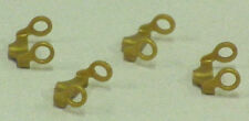 4 x Earrings Gold Playmobil Jewelry to figure PIRATES ASIA PRINCESS QUEEN 27