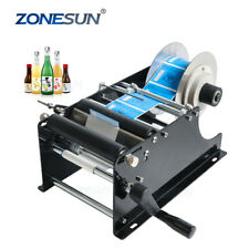 Zonesun Manual MT-30 Labelling Machine for bottles, candles. UK Dispatch