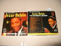 Jesse Belvin The Unforgettable For Sentimental Reasons cd 1992 cd is Ex+/Book vg
