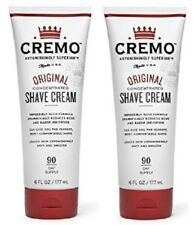 Cremo Original Shave Cream 2 Tube Pack