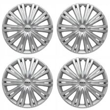"15"" Ford Focus Wheel Trims Hubcaps Trim Cap Cover X4 Silver New Trim Set Quality"
