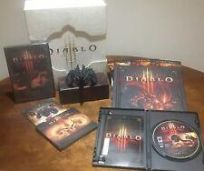 Diablo 3 Collectors Edition PC * completo * algunos elementos sellados/pases de invitado