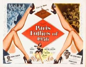 Fresh From Paris aka Paris Follies of 1956 (1955)  Forrest Tucker Musical DVD