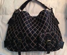 NWOT Hype Quilted Boho Hobo Leather Satchel Bag