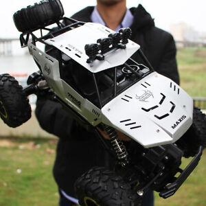 Carro A Control Remoto Grande 4x4 Con Suspension Motor Doble Escala 1/12 Calidad