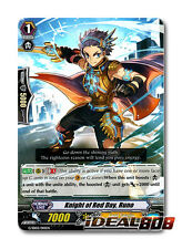 Cardfight Vanguard  x 4 Knight of Red Day, Runo - G-SD02/010EN - (common ver.) M