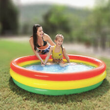 Paddling Garden Pool Toddler Kids Fun Swimming Outdoor Baby Inflatable Bath Tub