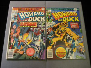 Howard the Duck #6 and #7 (Marvel, 1976)