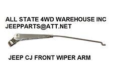 Front Windshield Wiper Arm LH or RH for Jeep CJ5 CJ6 CJ7 CJ8 Scrambler STAINLESS