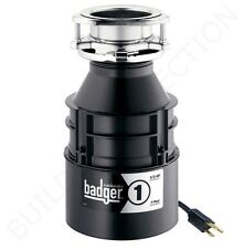 Insinkerator Badger 1, 1/3 HP Garbage Disposer with Power Cord