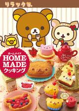 Re-Ment Miniature Sanrio Rilakkuma Homemade Cooking Full set of 8 pcs RARE
