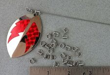 Clip-N-Spin Clevises 25 Pack Size #2 Stainless Steel USA MADE Clevis Clip Spin