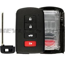 New Keyless Entry Remote Key Insert Fob Shell Case for Toyota Smart HYQ14FBA 4b