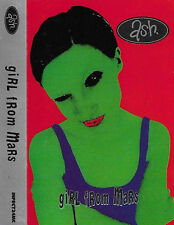Ash Girl From Mars CASSETTE SINGLE Brit Pop, Indie Rock 3 tracks