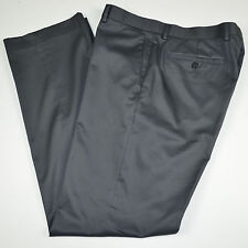 BANANA REPUBLIC Tailored Slim Fit Non Iron Flat Front Cotton Dress Pants 36 x 34