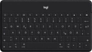 Logitech Keys-To-Go mit iOS-Sondertasten schwarz, Bluetooth, DE