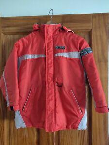 PLC Boys' Orange Polyester Jacket, size 7/8