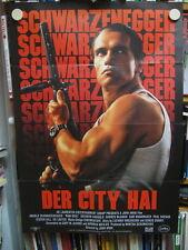 DER CITY HAI - A1 Filmplakat Poster - ARNOLD SCHWARZENEGGER - RAW DEAL
