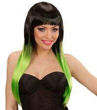 Donna Nero Verde Vampiro Parrucca Sexy Gothic witch SPOSA HALLOWEEN FANCY DRESS