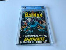 BATMAN 211 CGC 7.0 FACT FILE #7: DETECTIVE COMICS 27 DC COMICS