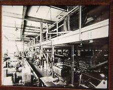 c1910 FACTORY SCENE - SHOP FLOOR - ENGINEER INDUSTRY - Glass Lantern Photo Slide